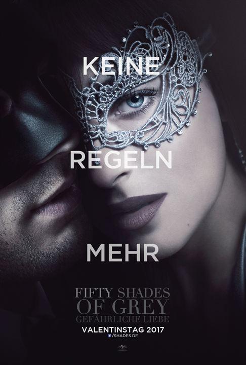 Fifty Shades Of Grey 2 - Gefährliche Liebe : Kinoposter