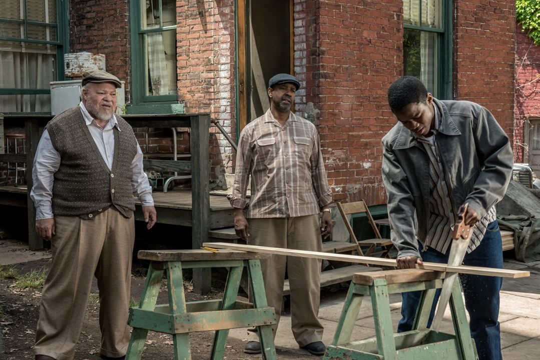 Fences : Bild Denzel Washington, Jovan Adepo, Stephen Henderson