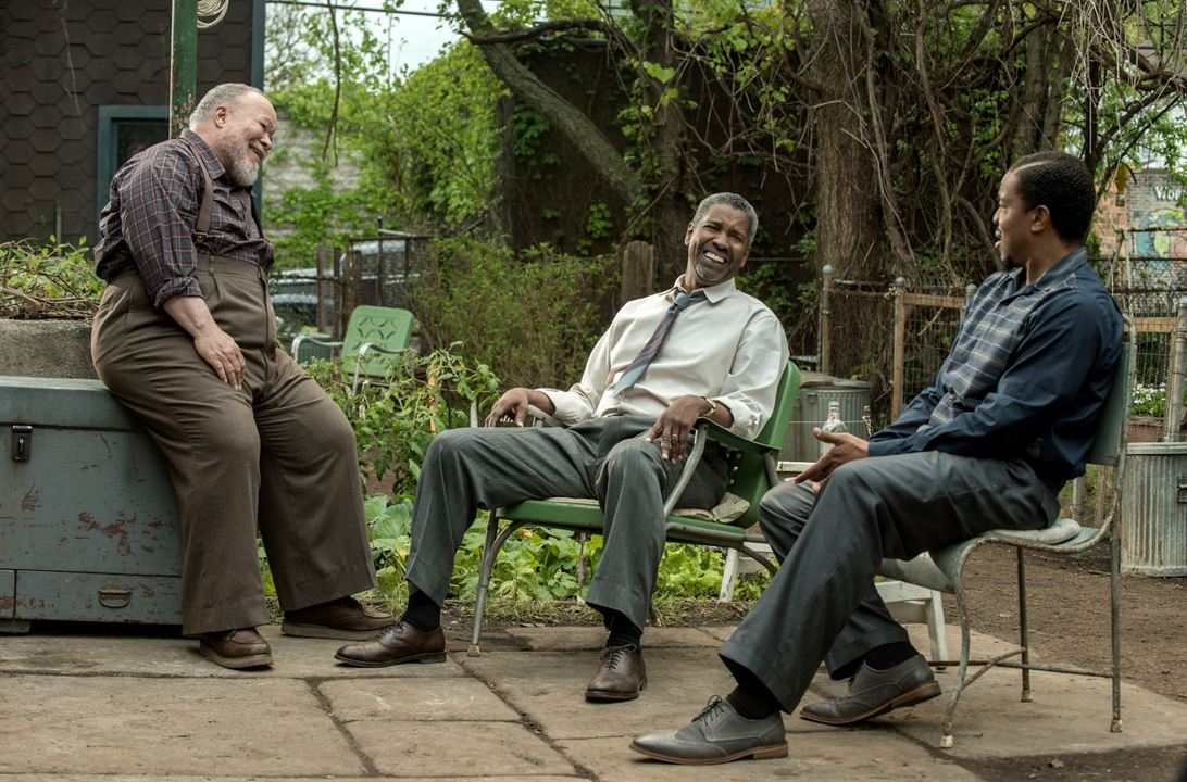 Fences : Bild Denzel Washington, Russell Hornsby, Stephen Henderson