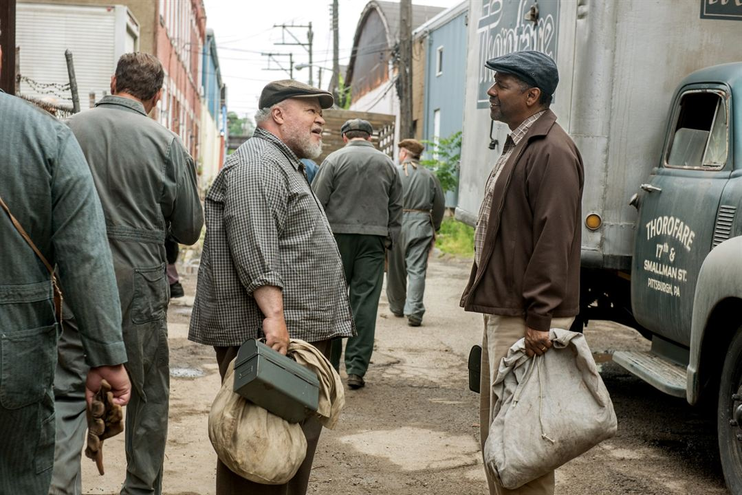 Fences : Bild Denzel Washington, Stephen Henderson