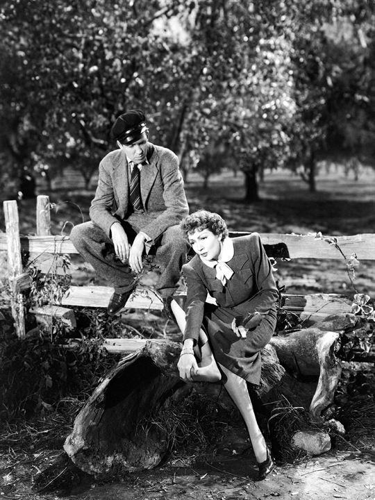 Bild Claudette Colbert, James Stewart