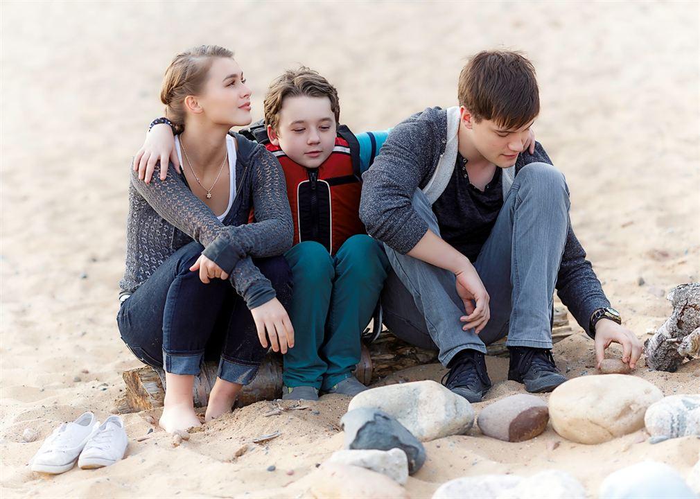Der Schatz von Walton Island : Bild Benjamin Stockham, Celeste Desjardins, Justin Kelly (III)