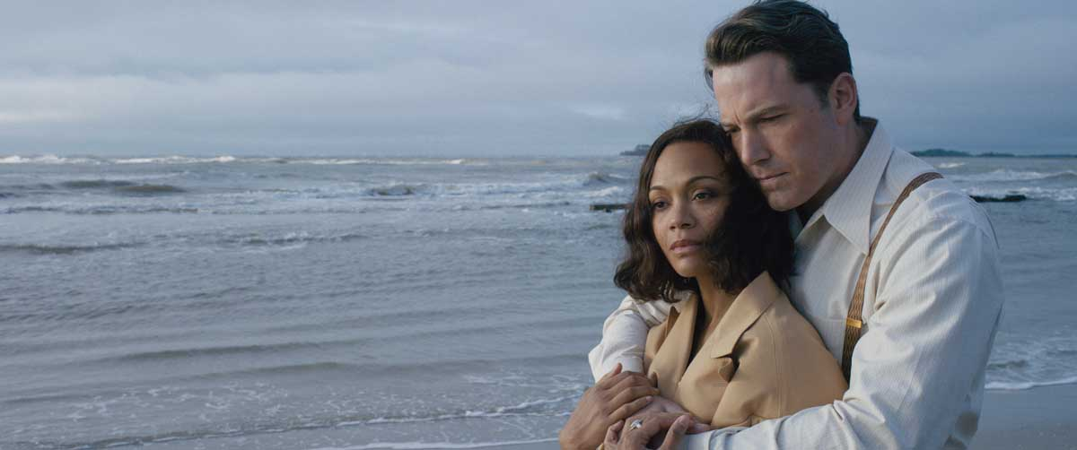 Live By Night : Bild Ben Affleck, Zoe Saldana