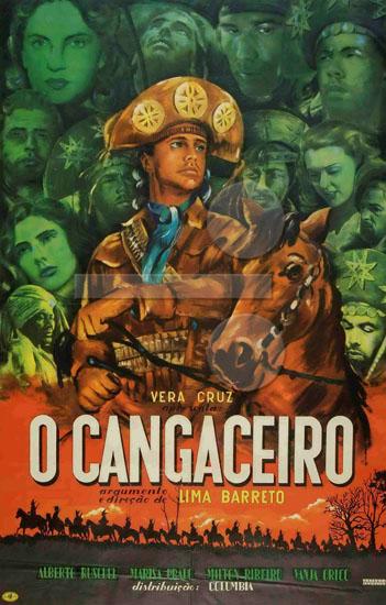 O Cangaceiro - Die Gesetzlosen : Kinoposter