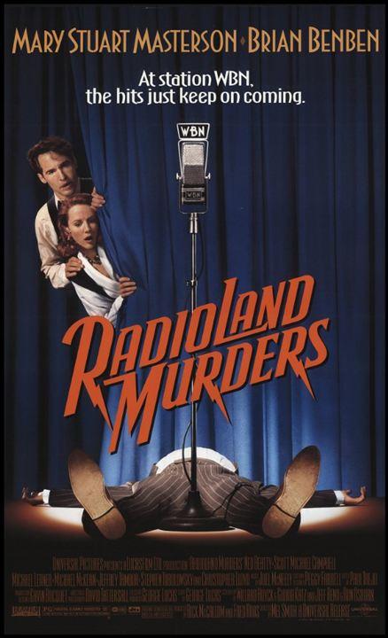 Radioland Murders - Wahnsinn auf Sendung : Kinoposter