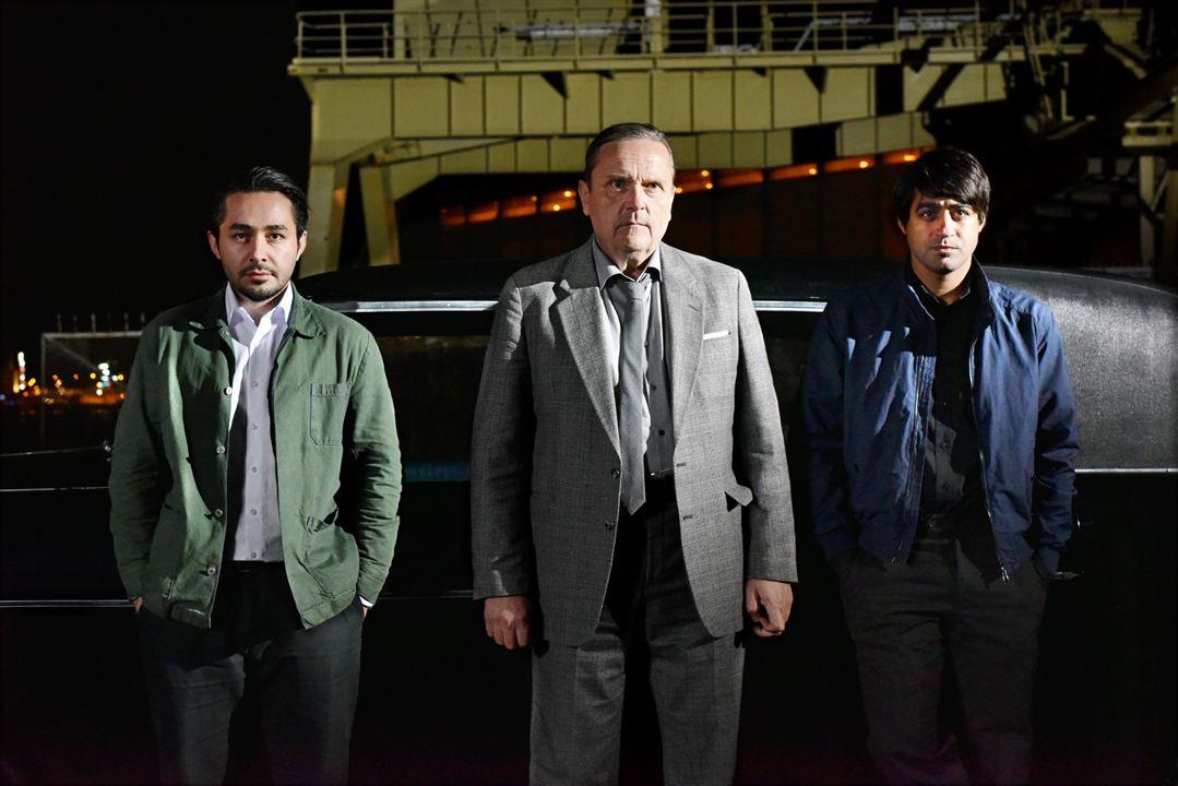 Die andere Seite der Hoffnung : Bild Sakari Kuosmanen, Sherwan Haji, Simon Al-Bazoon