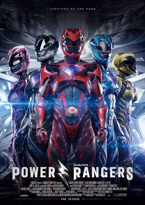Power Rangers : Kinoposter