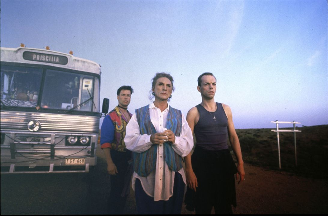Priscilla - Königin der Wüste : Bild Guy Pearce, Hugo Weaving, Terence Stamp