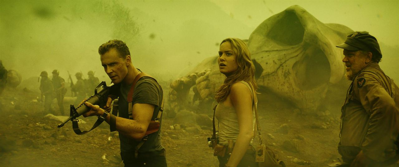 Kong: Skull Island : Bild Brie Larson, John C. Reilly, Tom Hiddleston