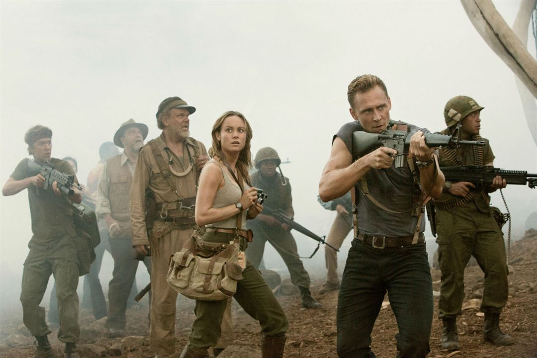 Kong: Skull Island : Bild Brie Larson, John C. Reilly, John Goodman, Thomas Mann (II), Tom Hiddleston