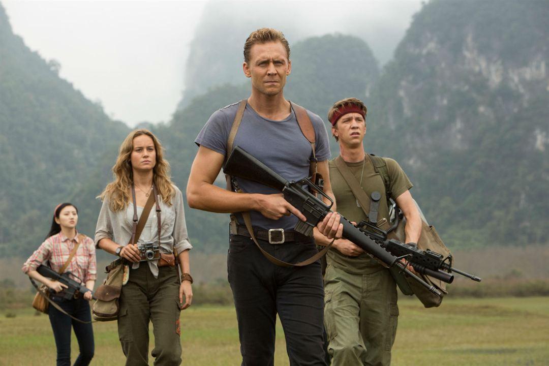 Kong: Skull Island : Bild Brie Larson, Jing Tian, Thomas Mann (II), Tom Hiddleston