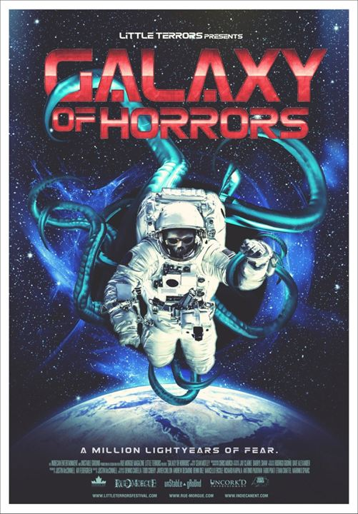 Galaxy Of Horrors : Kinoposter