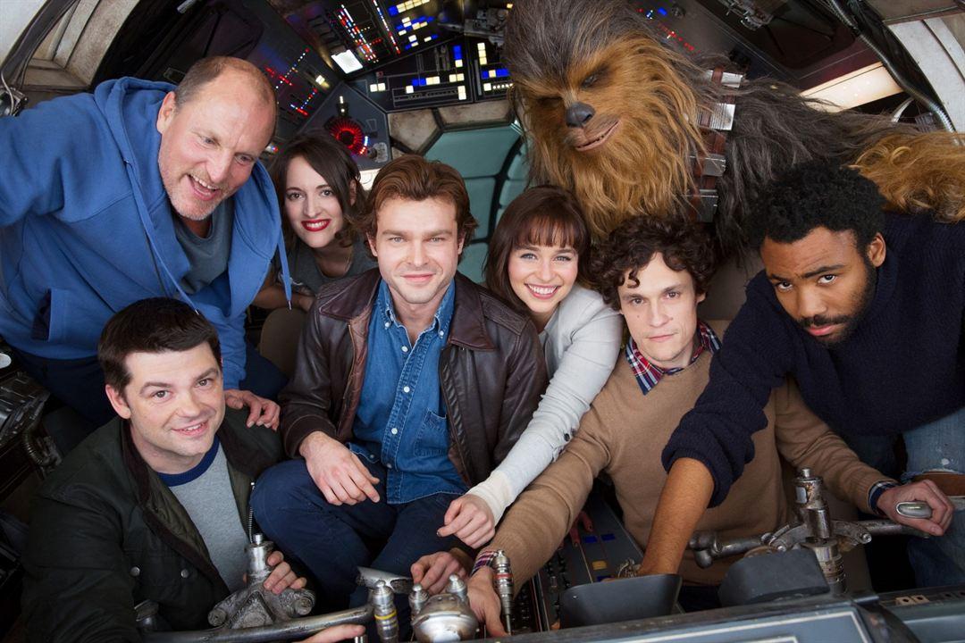 Solo: A Star Wars Story : Vignette (magazine) Alden Ehrenreich, Christopher Miller, Donald Glover, Emilia Clarke, Joonas Suotamo