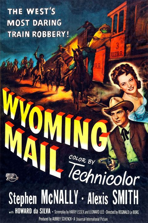 Wyoming Mail : Kinoposter
