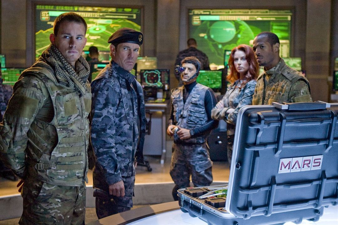 G.I. Joe - Geheimauftrag Cobra : Bild Channing Tatum, Dennis Quaid, Marlon Wayans, Rachel Nichols