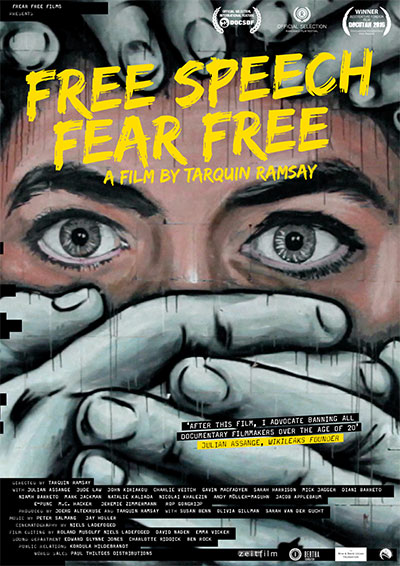 Free Speech Fear Free : Kinoposter