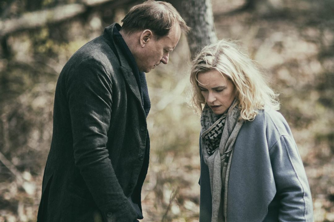 Rückkehr nach Montauk : Bild Nina Hoss, Stellan Skarsgård