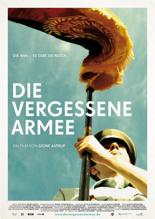 Die vergessene Armee : Kinoposter