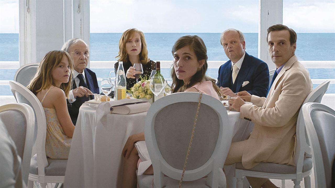 Happy End : Bild Fantine Harduin, Isabelle Huppert, Jean-Louis Trintignant, Laura Verlinden, Mathieu Kassovitz