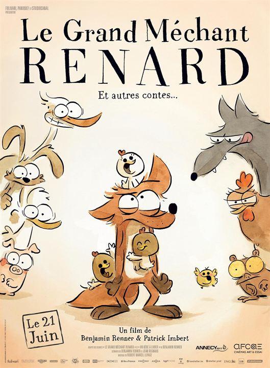 Der kleine Fuchs und seine Freunde - Das grosse Kinoabenteuer : Kinoposter