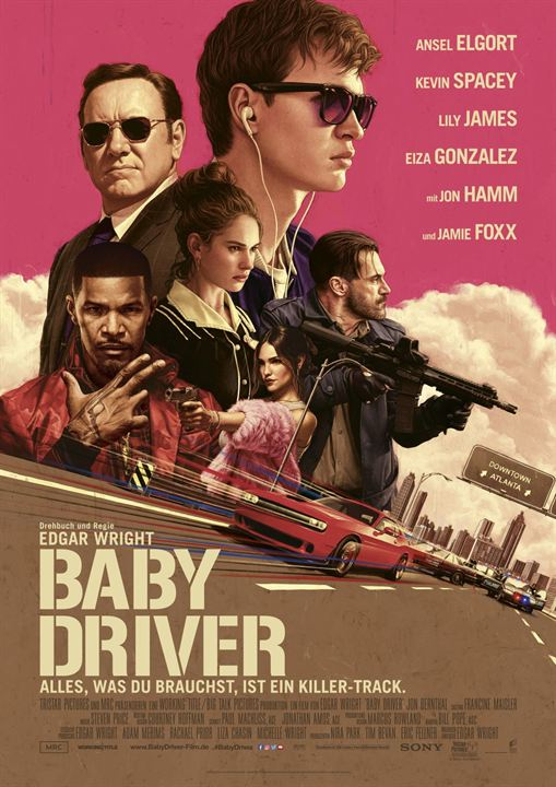 Baby Driver : Kinoposter
