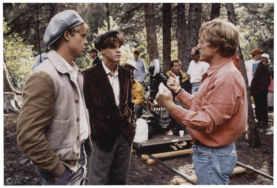 Aus der Mitte entspringt ein Fluss : Bild Brad Pitt, Craig Sheffer, Robert Redford