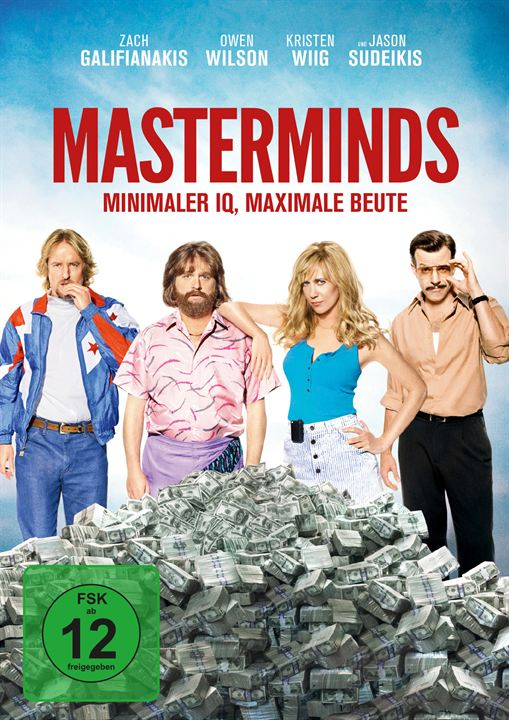 Masterminds - Miminaler IQ, maximale Beute : Kinoposter
