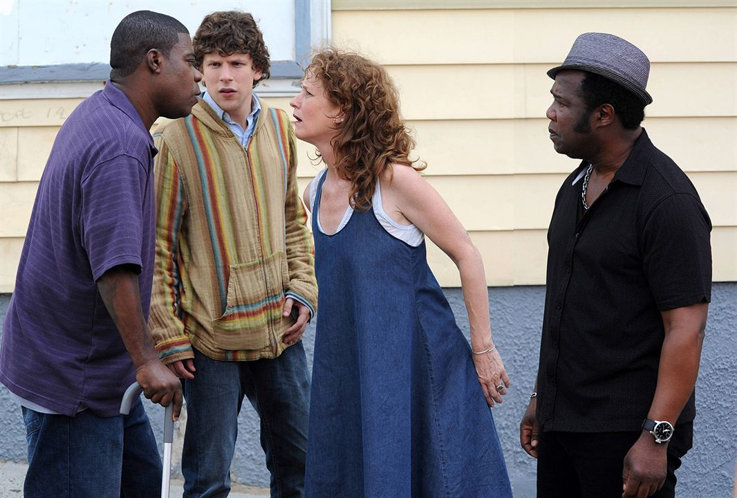 Why Stop Now - Auf Umwegen in den Entzug : Bild Isiah Whitlock Jr., Jesse Eisenberg, Melissa Leo, Tracy Morgan