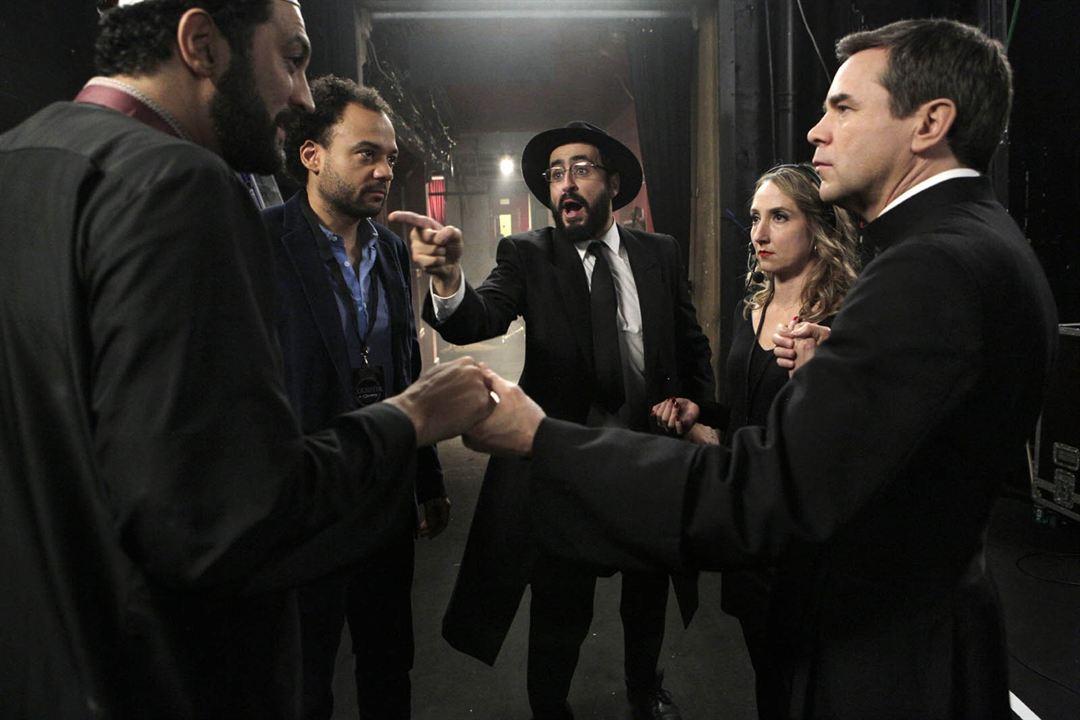 Ein Lied in Gottes Ohr : Bild Audrey Lamy, Fabrice Eboué, Guillaume De Tonquédec, Jonathan Cohen, Ramzy Bedia