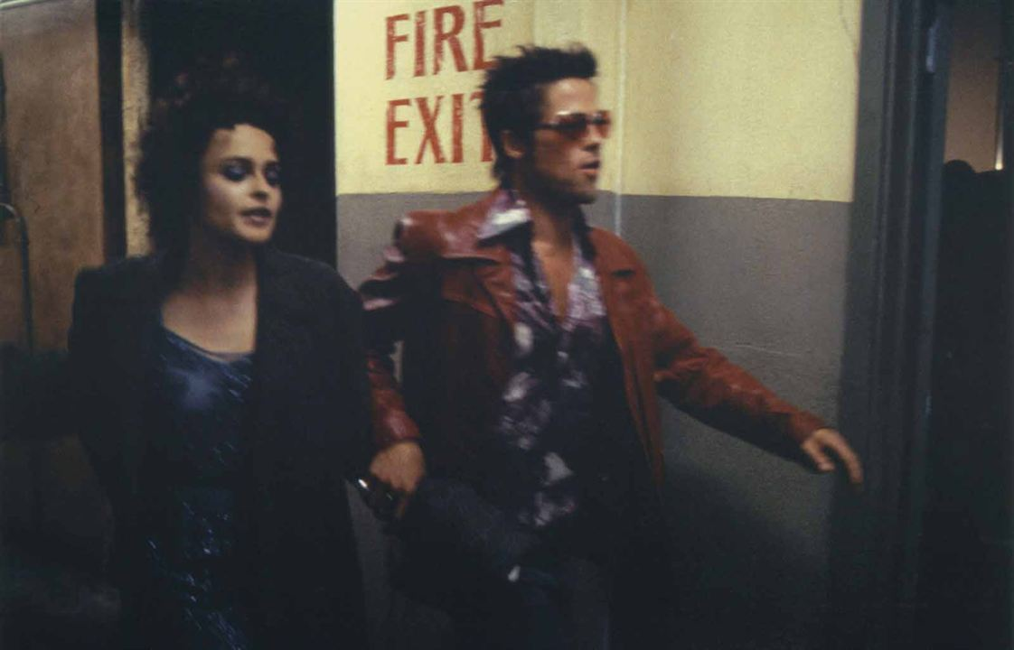 Fight Club : Bild Brad Pitt, Helena Bonham Carter