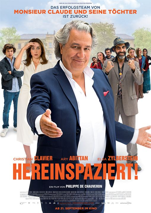 Hereinspaziert! : Kinoposter