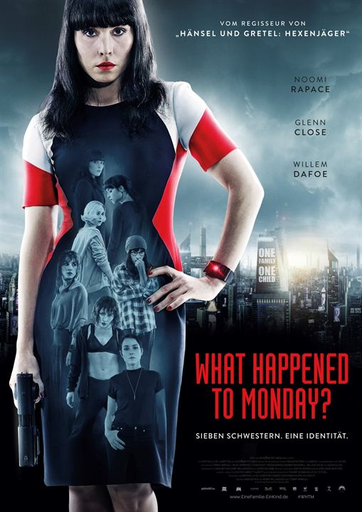 What Happened To Monday? : Kinoposter
