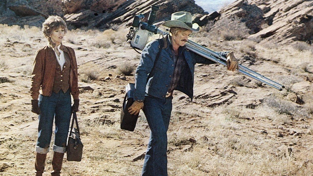 Der elektrische Reiter : Bild Jane Fonda, Robert Redford