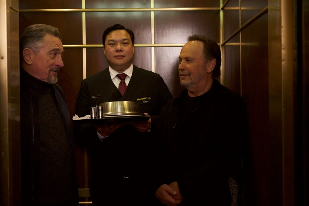 The Comedian : Bild Billy Crystal, Lyman Chen, Robert De Niro