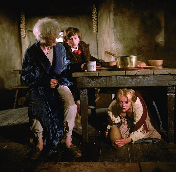 Tanz der Vampire : Bild Jack MacGowran, Roman Polanski