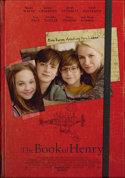 The Book Of Henry : Kinoposter