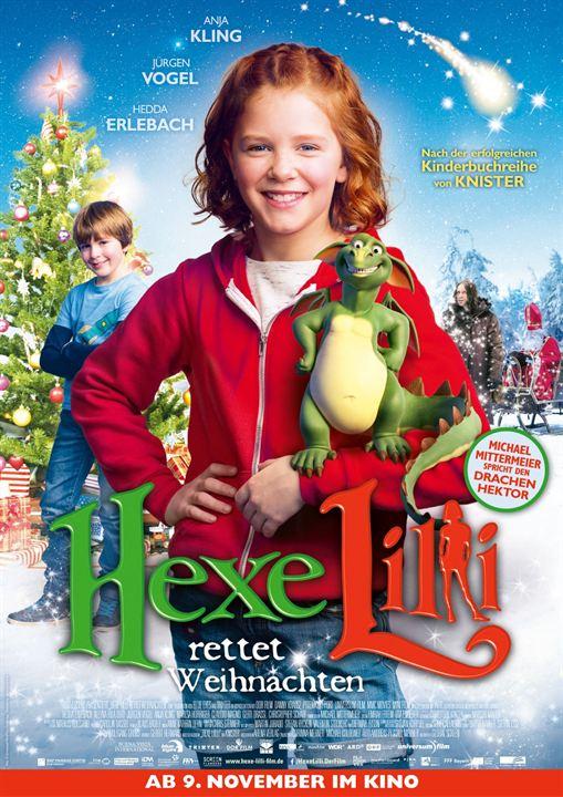 Hexe Lilli rettet Weihnachten : Kinoposter