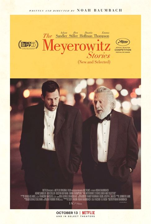 The Meyerowitz Stories (New and Selected) : Kinoposter