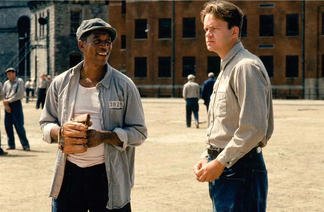 Die Verurteilten : Bild Morgan Freeman, Tim Robbins
