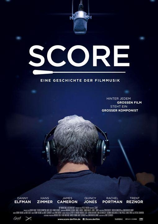 Score - Eine Geschichte der Filmmusik : Kinoposter