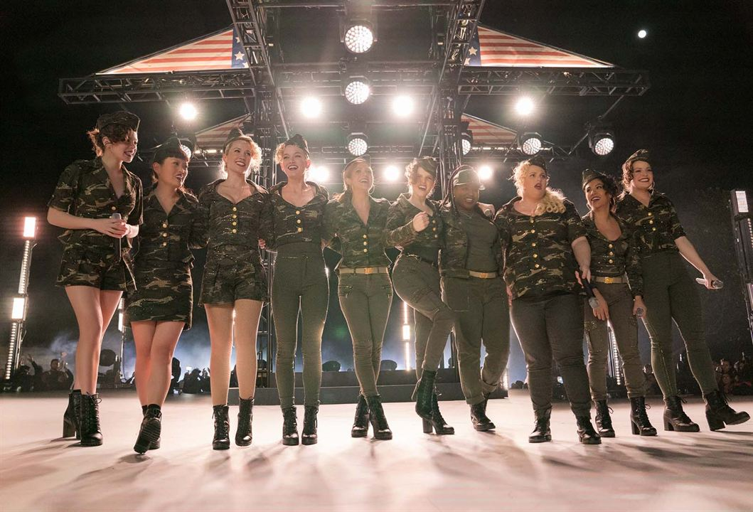 Pitch Perfect 3 : Bild Anna Camp, Anna Kendrick, Brittany Snow, Chrissie Fit, Ester Dean