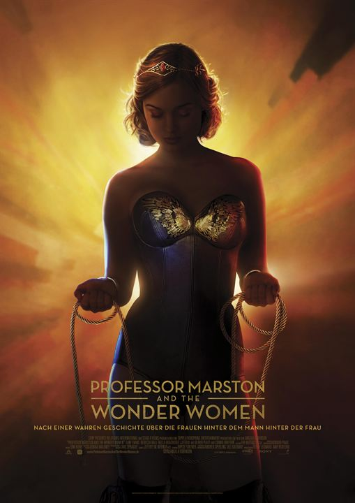 Professor Marston & The Wonder Women : Kinoposter