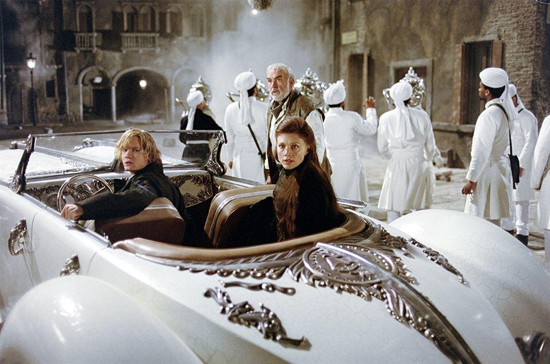 Die Liga der außergewöhnlichen Gentlemen : Bild Peta Wilson, Sean Connery, Shane West