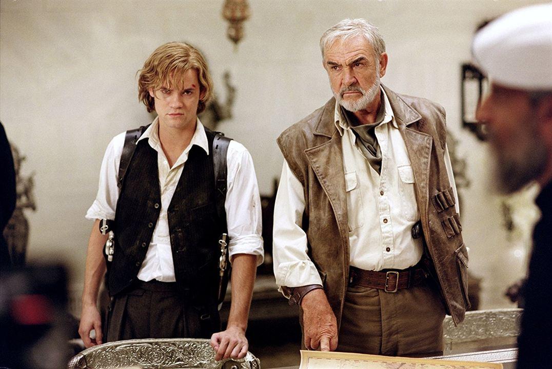 Die Liga der außergewöhnlichen Gentlemen : Bild Sean Connery, Shane West