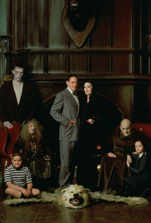Die Addams Family : Bild Anjelica Huston, Carel Struycken, Christina Ricci, Christopher Lloyd, Jimmy Workman