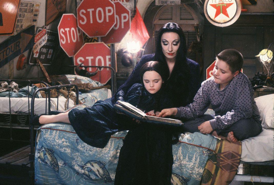 Die Addams Family : Bild Anjelica Huston, Christina Ricci, Jimmy Workman
