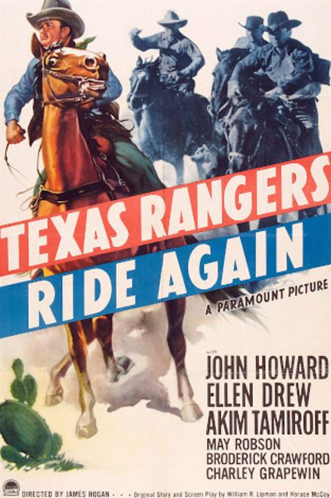 The Texas Rangers Ride Again : Kinoposter