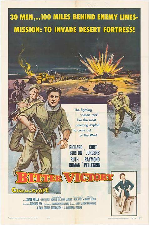 Bitter war der Sieg : Kinoposter