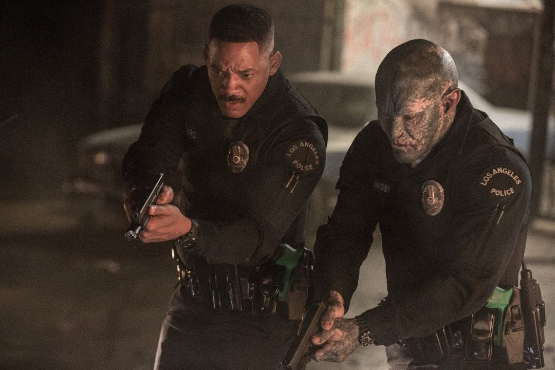 Bright : Bild Joel Edgerton, Will Smith