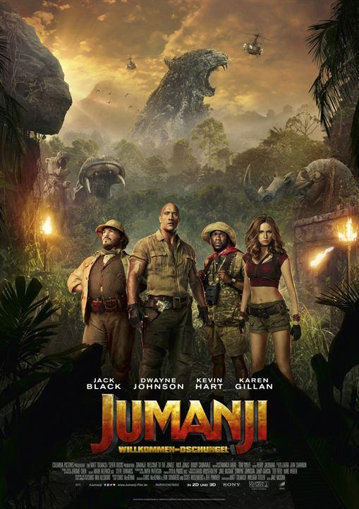 Jumanji: Willkommen im Dschungel : Kinoposter